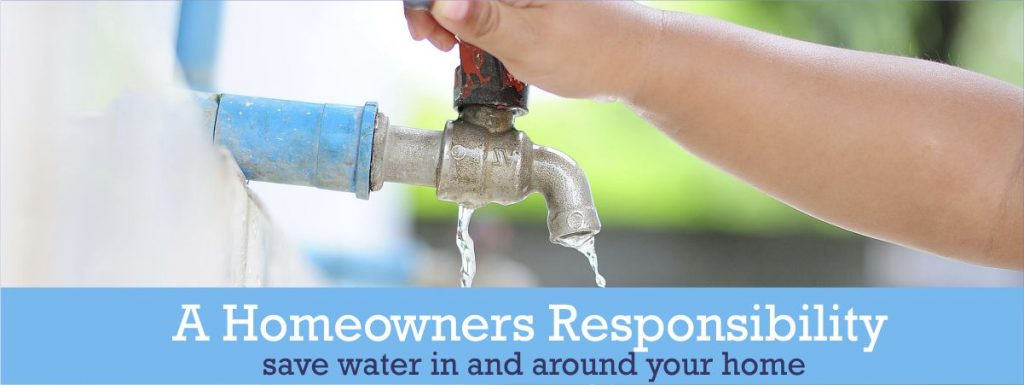 Save Water around your Home