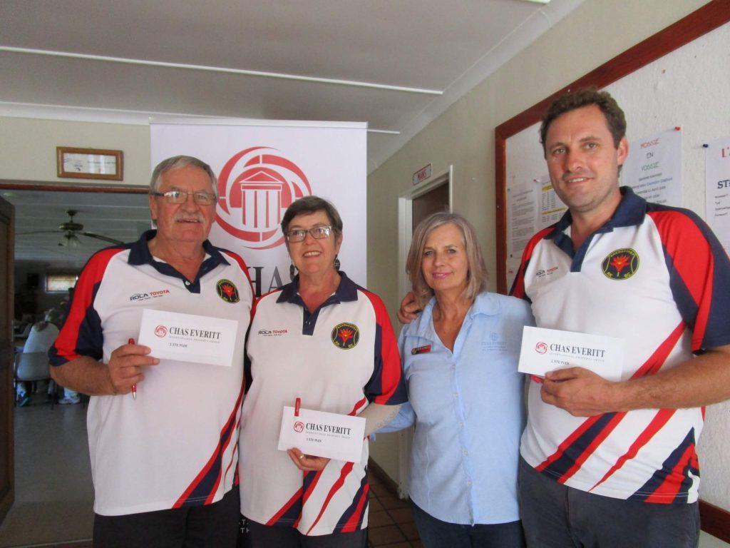 Chas Everitt Cape Agulhas sponsors the Bowling Event